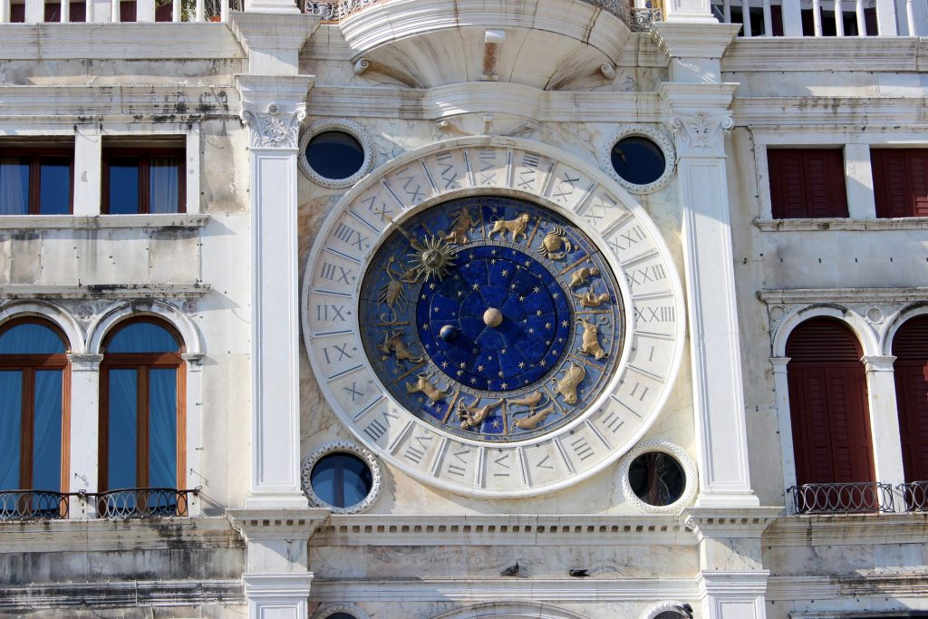 Clock Tower in Venice