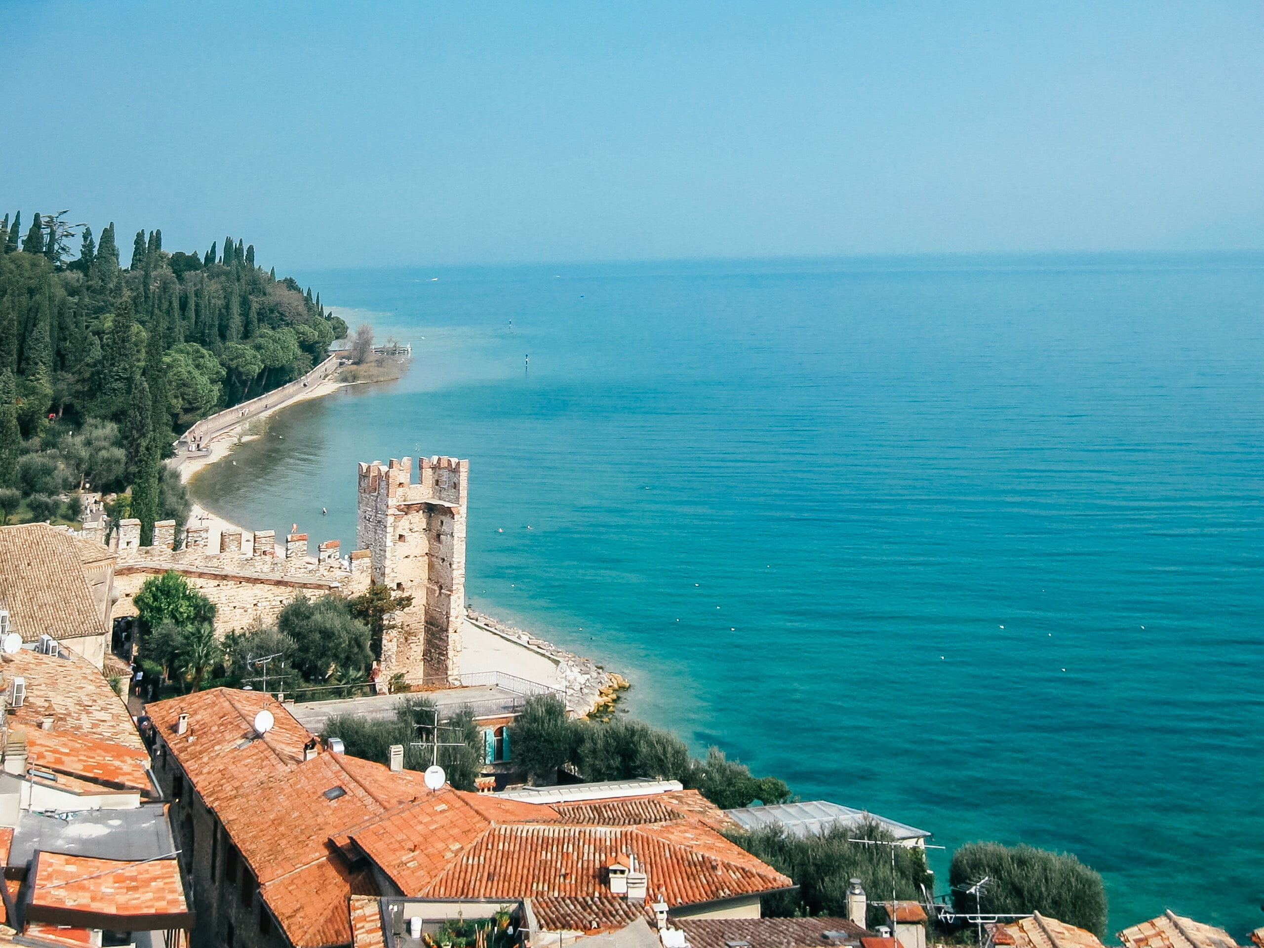 Sirmione in Garda Lake