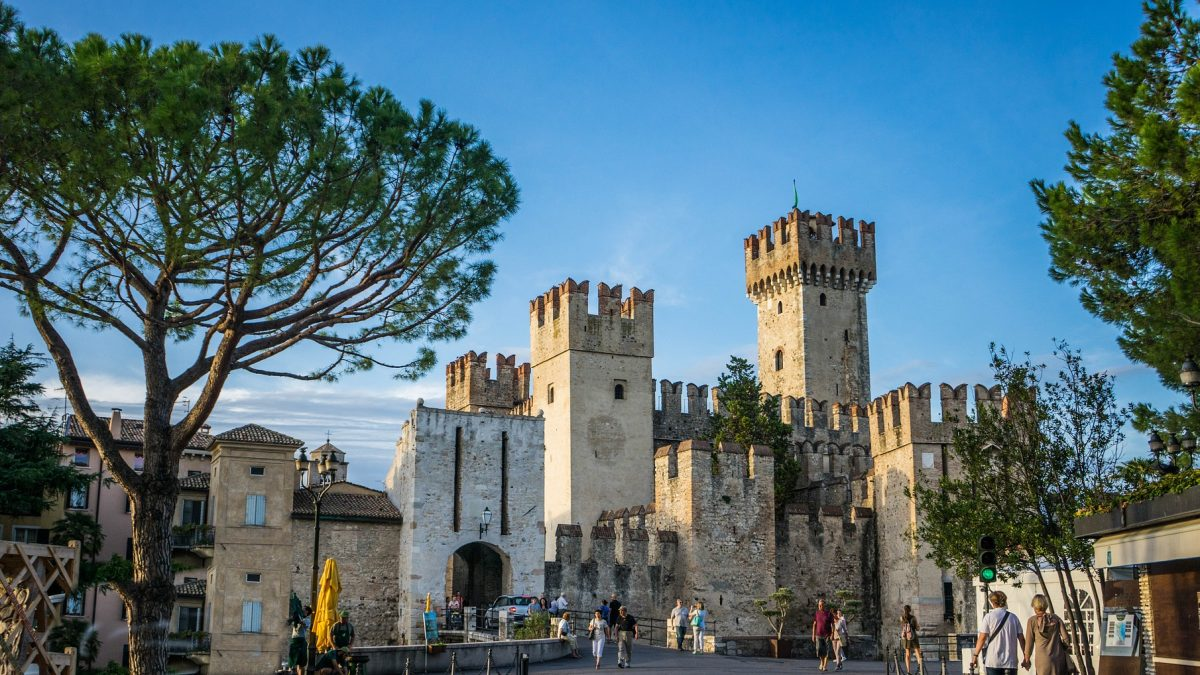 Scaliger Castle Sirmione Italy