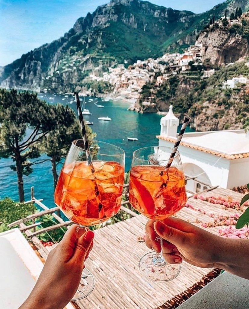 Cocktails Positano