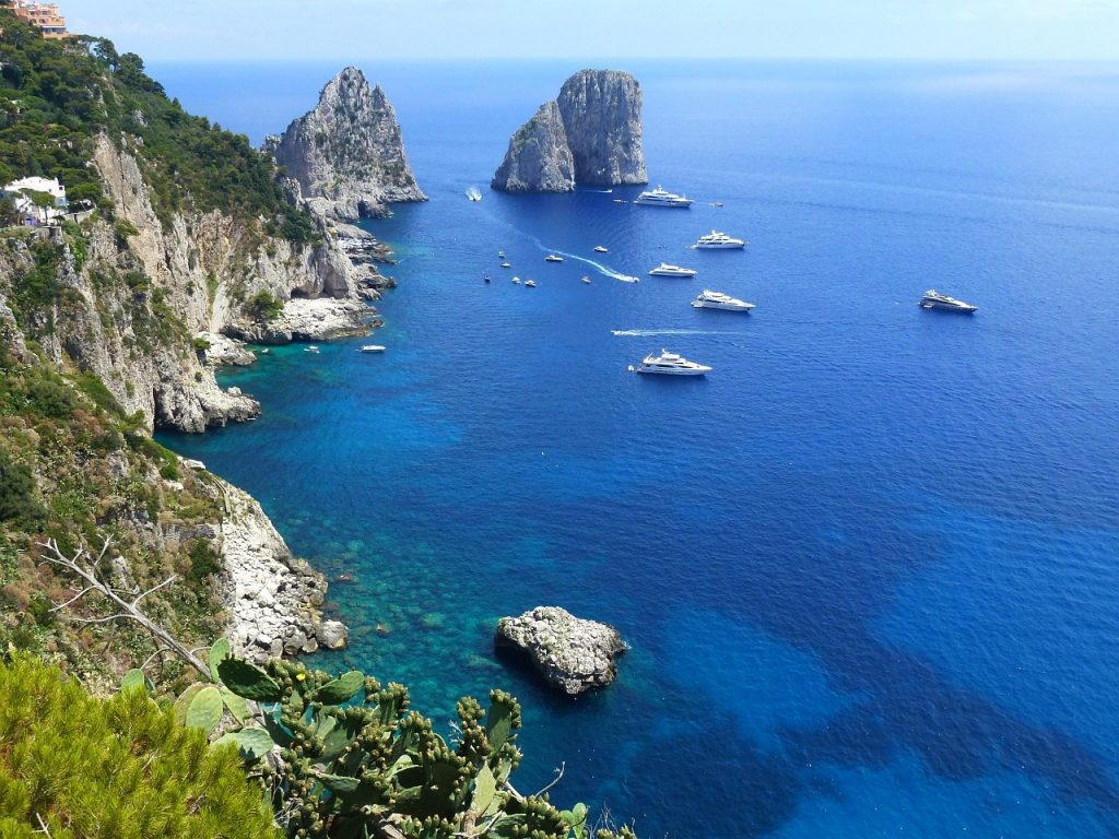 Day trip from Positano to Capri