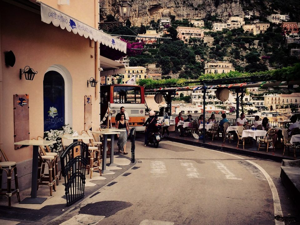 How to get to Positano