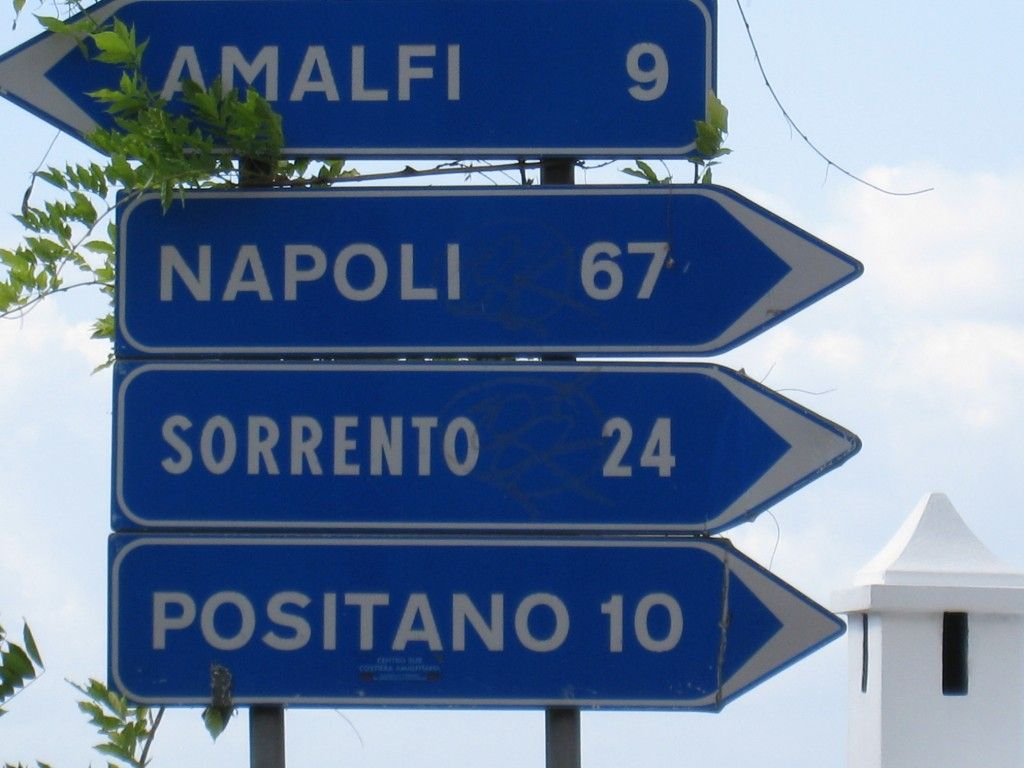 How to get to Positano from Rome