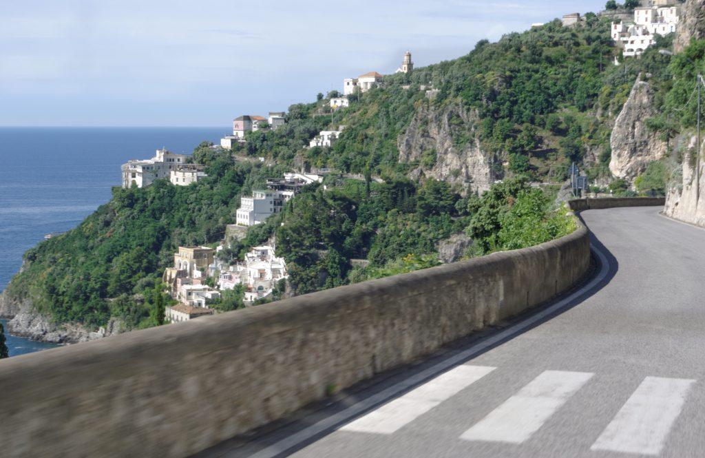 Salerno to Positano by car
