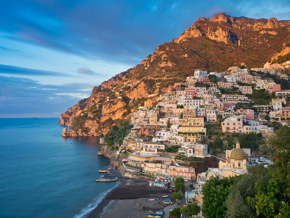 Day trip from Sorrento to Positano