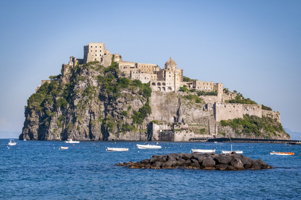 Day trip from Sorrento to Ischia