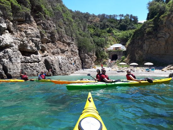 Kayak tour in Sorrento