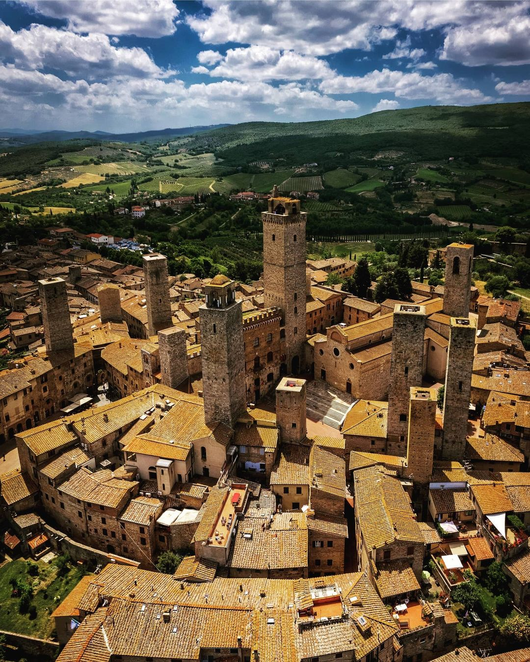 Questions about San Gimignano
