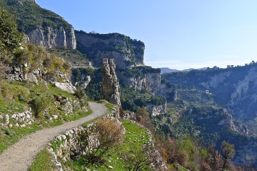 Path of Gods in Agerola
