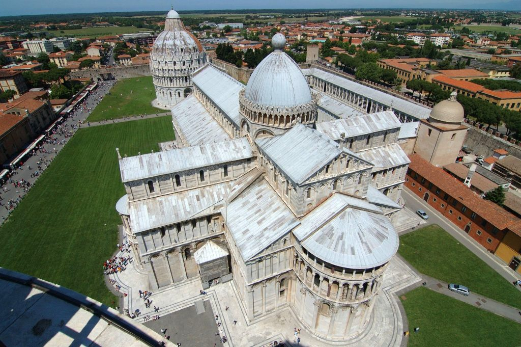 View from Leaning Tower
